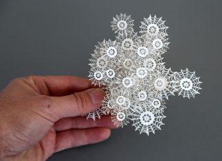 cắt giấy bằng tia laser 1