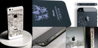 Công nghệ khắc laser trên điện thoại
