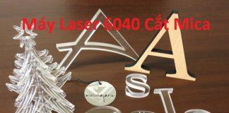 Một số sản phẩm từ máy laser cắt mica