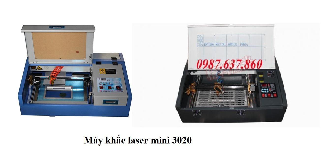 Máy cắt laser mini 3020 An Khánh