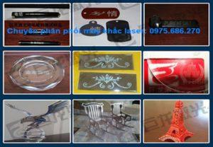Một số sản phẩm của máy khắc laser