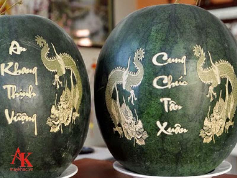 Máy khắc dưa hấu giá rẻ 1390 tại An Khánh mang đến những sản phẩm tuyệt vời