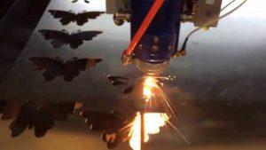 Khắc cắt kim loại bằng công nghệ laser