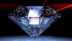 Công nghệ khắc kim cương sử dụng máy khắc laser
