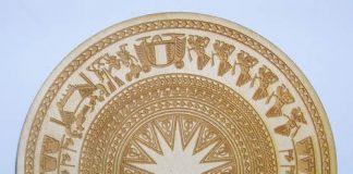 Sản phẩm khắc laser trên đồng bằng máy khắc laser tại An Khánh