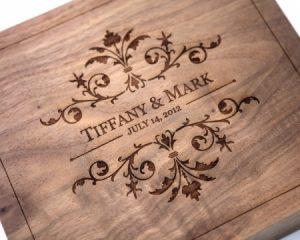 Sản phẩm của máy khắc laser trên gỗ