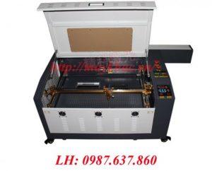 Máy khắc laser trên vải 6040 tại An Khánh