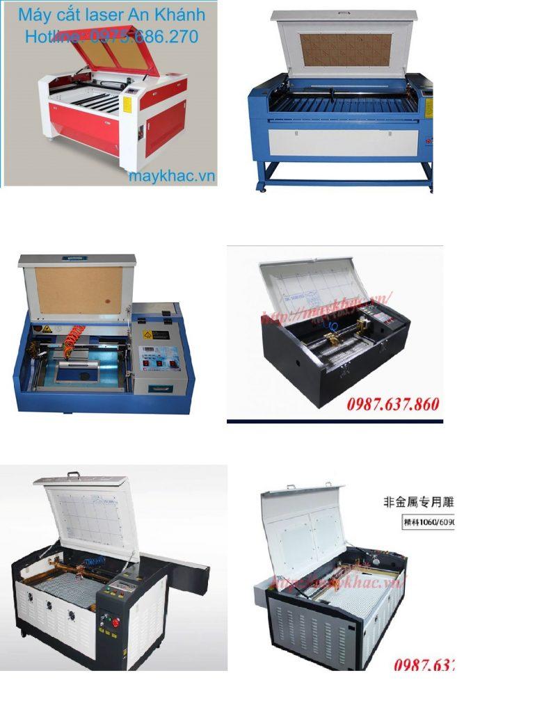 Một số sản phẩm máy khắc cắt laser tại An Khánh