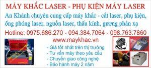 An Khánh cung cấp máy khắc laser số 1 Việt Nam