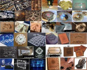 Một vài sản phẩm từ máy khắc 2017