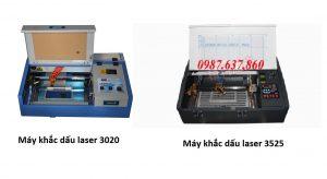 2 dòng máy khắc dấu laser tại An Khánh