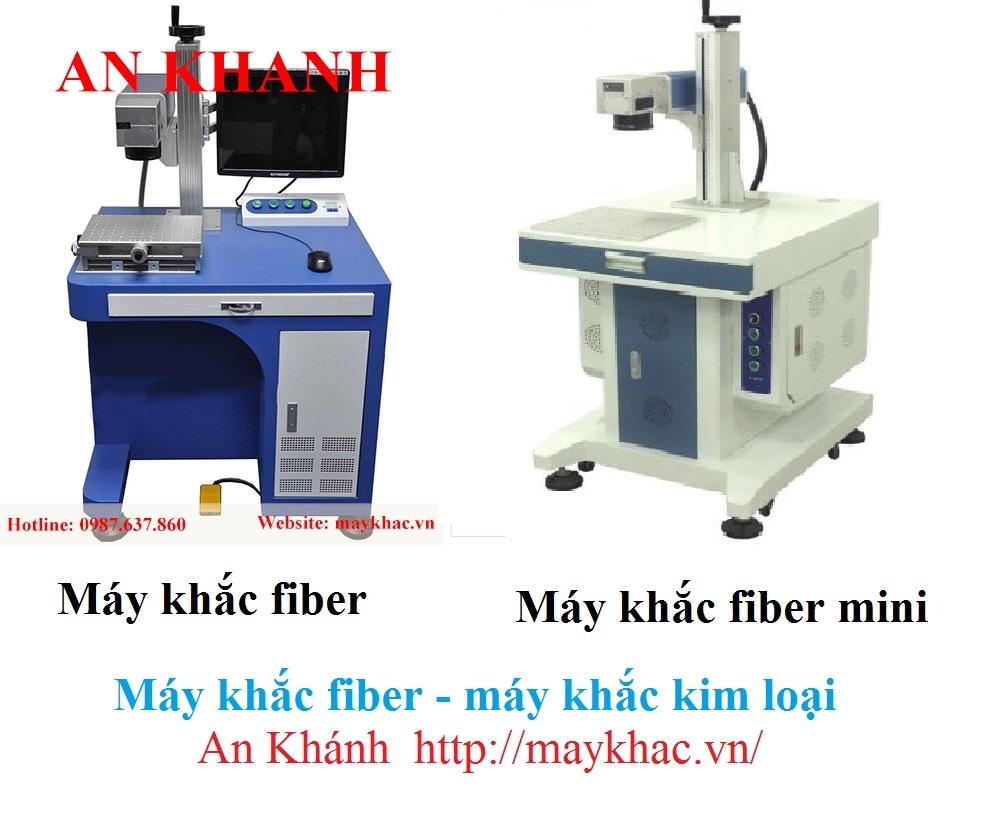 Máy khắc kim loại - máy khắc fiber tại An Khánh