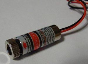 Laser diode đã được gắn vào aixiz