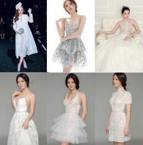 'Đã mắt' với những bộ váy ấn tượng được cắt bằng máy laser