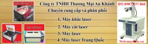 An Khánh phân phối máy laser độc quyền