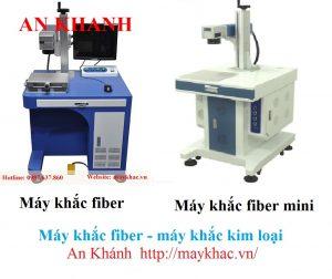 Máy khắc laser fiber và máy khắc laser fiber mini An Khánh