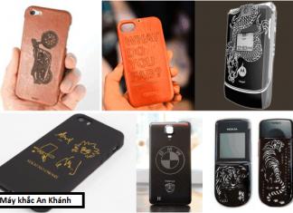 Khắc laser có thể khắc được loại điện thoại nào?