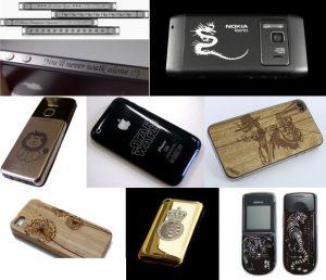 Máy laser có thể khắc được gì trên điện thoại?