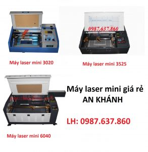 4 dòng máy cắt khắc laser mini bán chạy nhất hiện nay