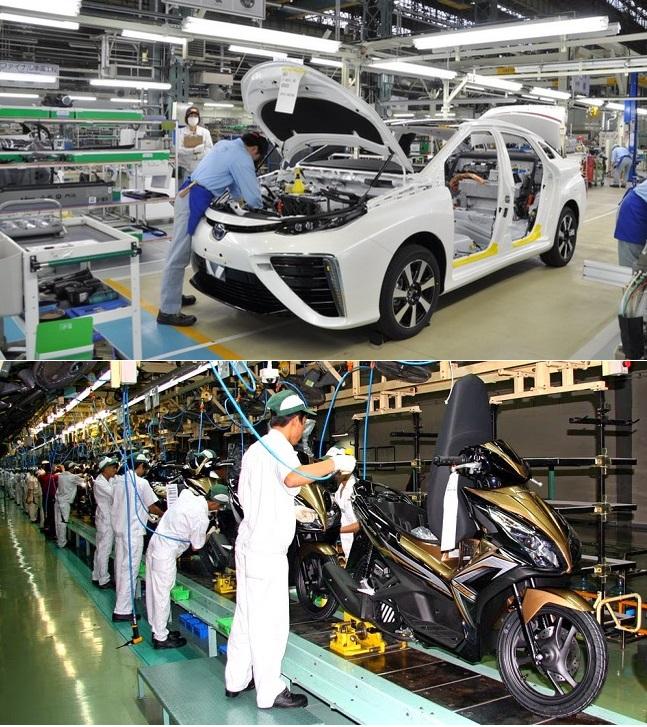 Ứng dụng của công nghệ laser trong sản xuất ô tô, xe máy