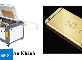 Khắc ốp lưng điện thoại bằng máy khắc laser
