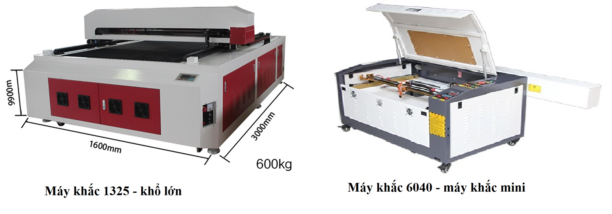 Mua máy khắc laser mini hay máy khắc laser khổ lớn?