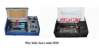 Máy khắc laser 3020 khắc được trên chất liệu gì?