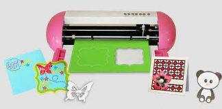 Máy cắt giấy cho ra nhiều hoạt tiết Máy cắt giấy cho ra nhiều hoạt tiết