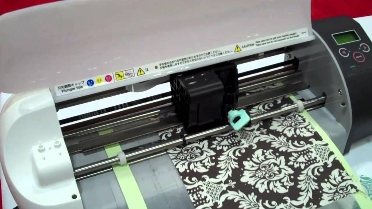 máy cắt giấy họa tiết siêu đẹp