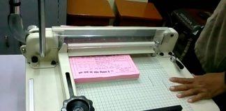 máy xén giấy bằng tay