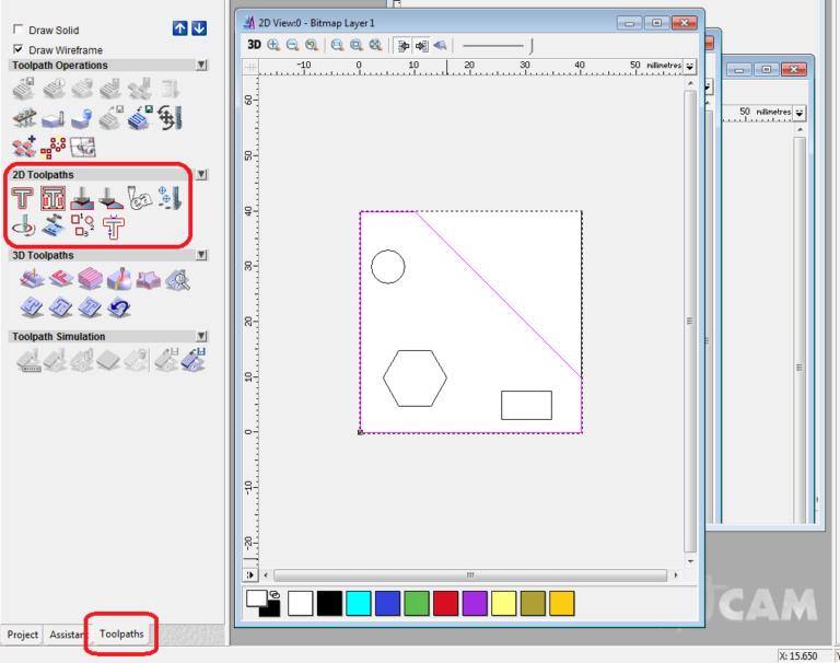 2D toolpaths ảnh 4