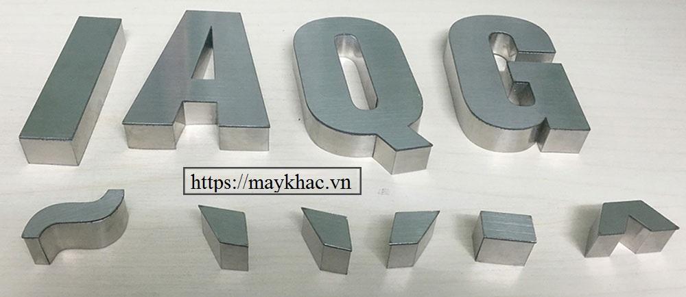 Các phương pháp cắt chữ Inox phổ biến nhất