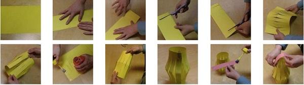 Bước 2: Trang trí lồng đèn