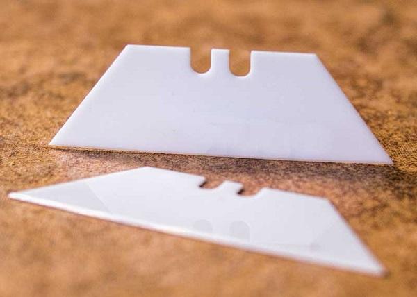 Ceramic ứng dụng làm lưỡi dao trong các dụng cụ cắt