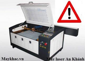 Lưu ý khi vận hành máy laser