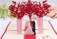 10 mẫu thiệp cưới 3D ấn tượng được tạo ra từ máy khắc laser