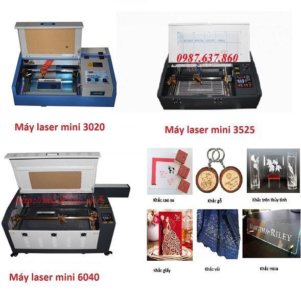 Máy khắc laser mini không thể thiếu trong sản xuất quà tặng