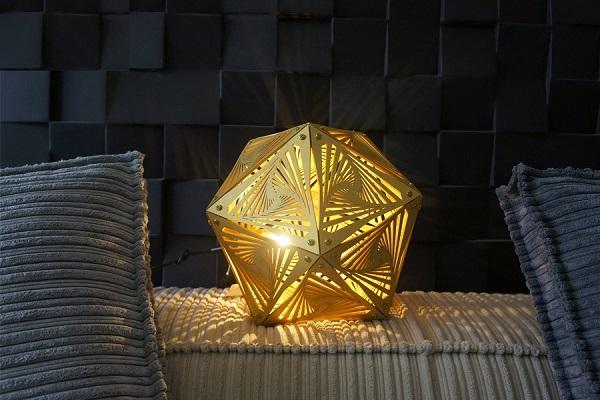 Máy cắt laser – cắt đèn trang trí trong nhà