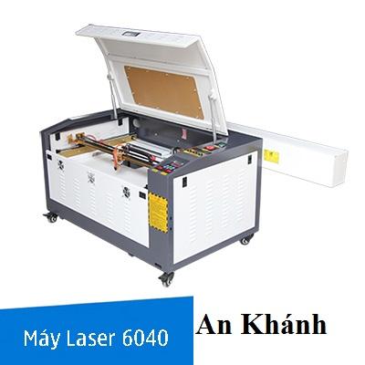 Máy laser 6040 khắc dưa hấu được 'săn lùng' ngày cận Tết