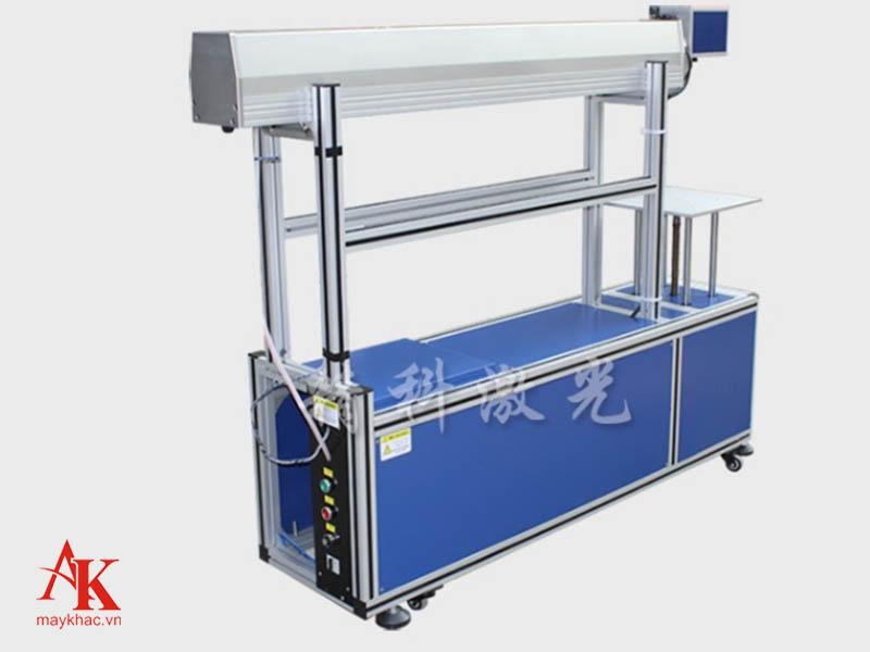 Mẫu máy khắc laser CO2 siêu tốc ống thủy tinh tại An Khánh